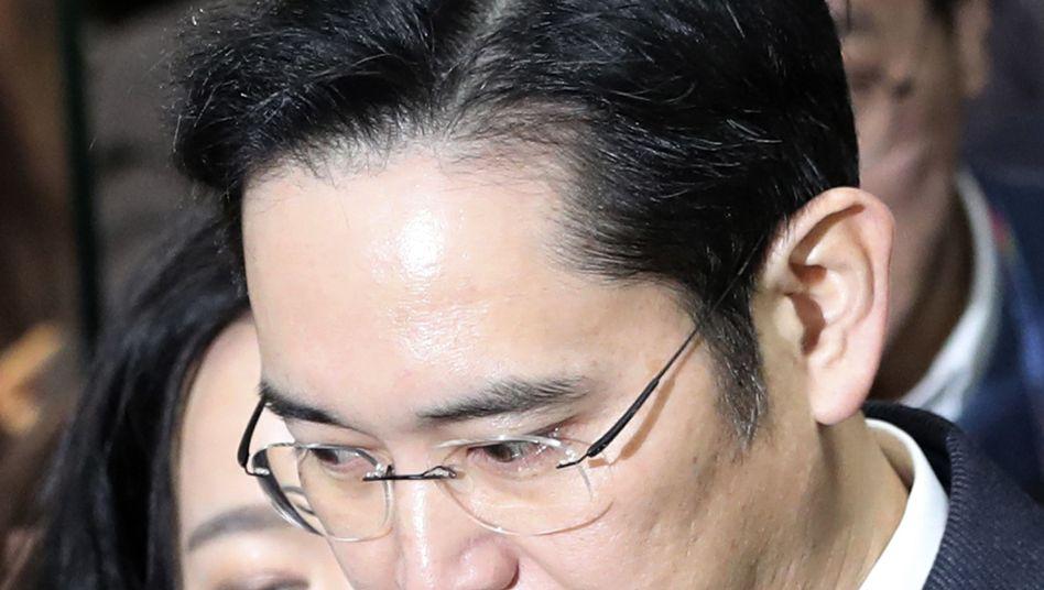 Samsung-Erbe Lee Jae Yong
