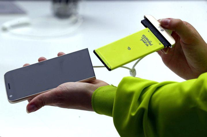LG G5: Mit Modulen erweiterbar