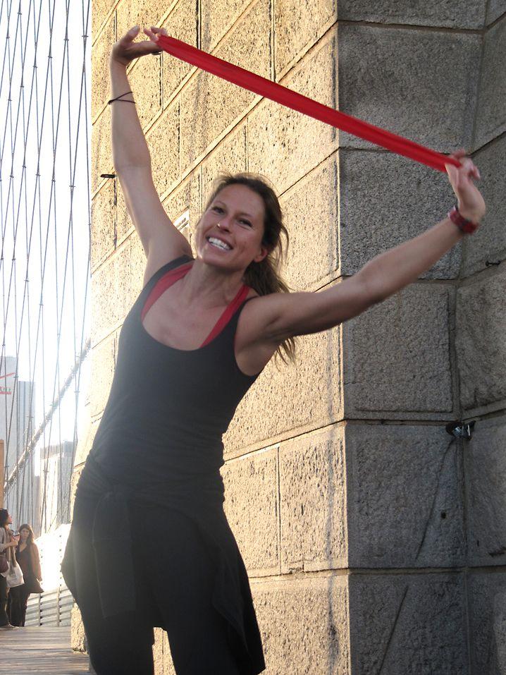 Ariane Hundt, 35: Die Personal Trainerin aus Dortmund ist seit zehn Jahren in New York