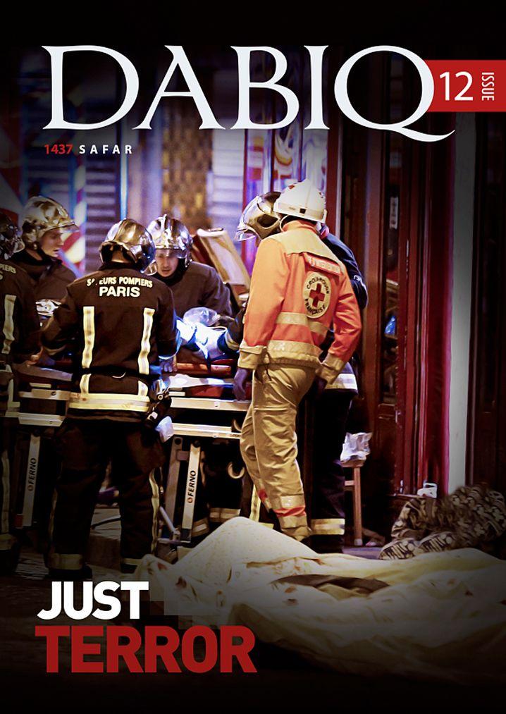 "Titelcover ""Dabiq"" - Ausgabe 12/2015"