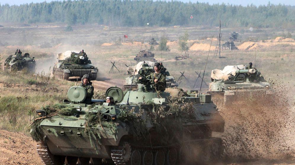 """Militärübung von Russland und Weißrussland: Großmanöver """"Sapat"""""""