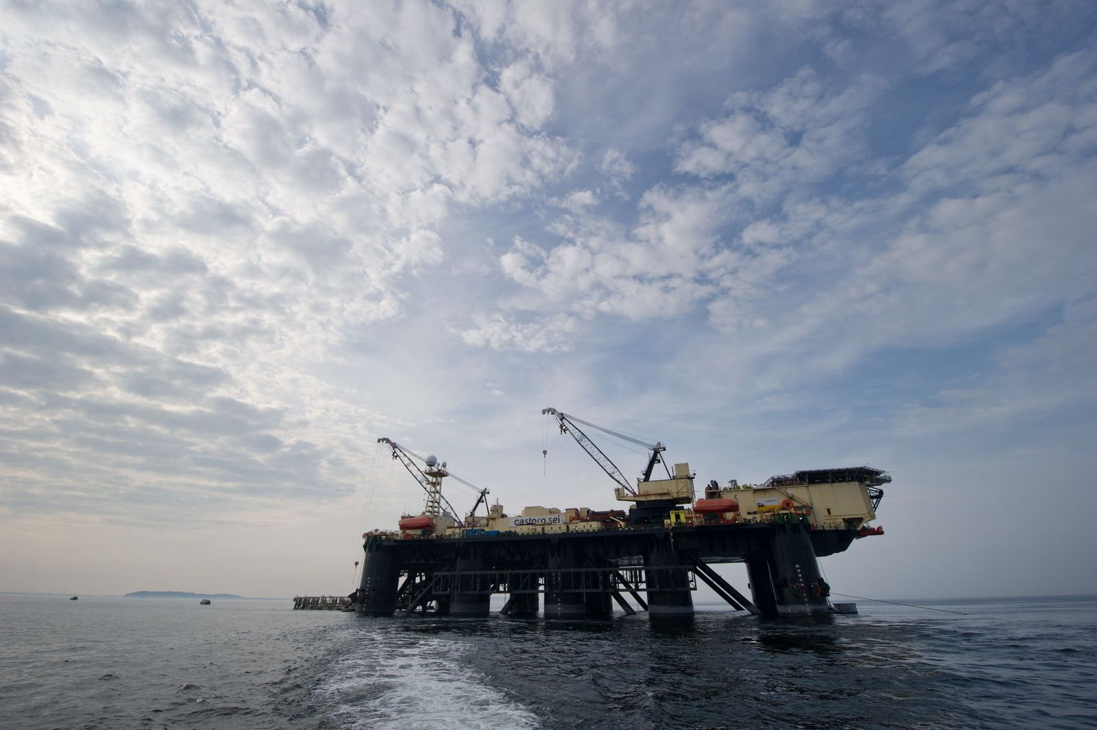 Pipeline-Verlegeschiff Castoro Sei / Nord Stream