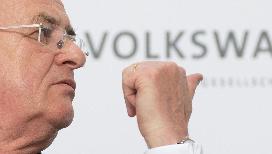 Ehemaliger VW-Chef Martin Winterkorn
