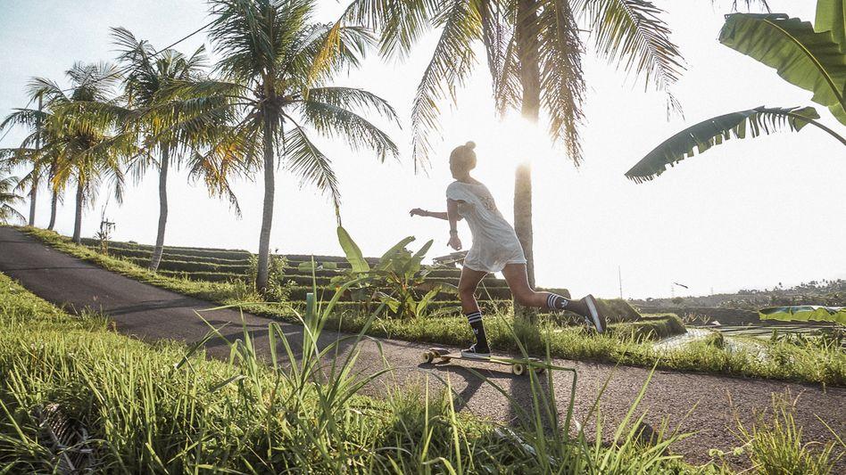 Nadja Neuendorf auf Bali