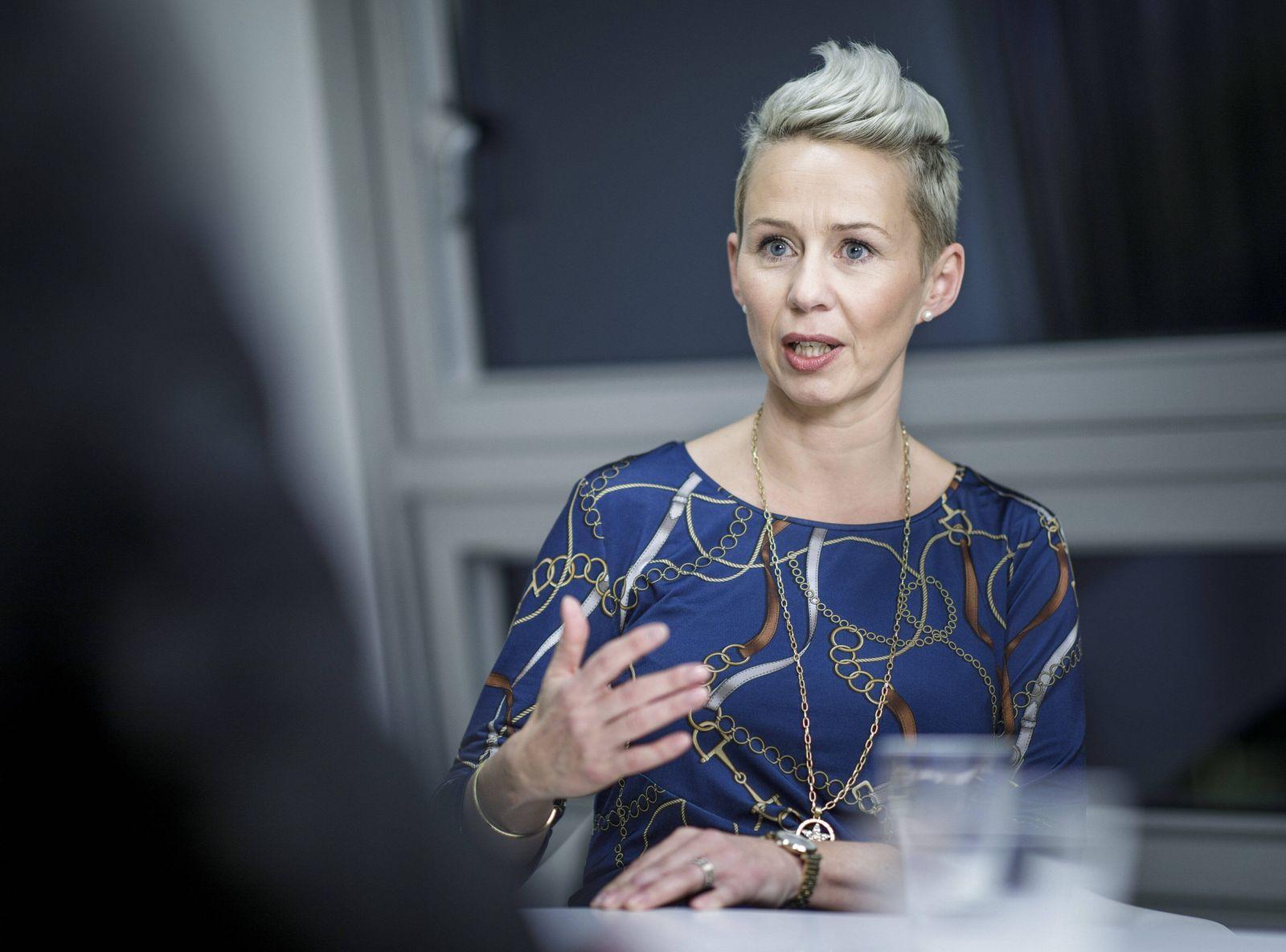 Silvia Breher, stellvertretende Parteivorsitzende der CDU, aufgenommen waehrend eines Interviews. Berlin, 29.01.2020. Be