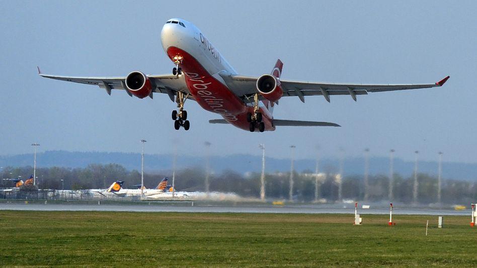 Air-Berlin-Maschine: Rückflug? Ungewiss