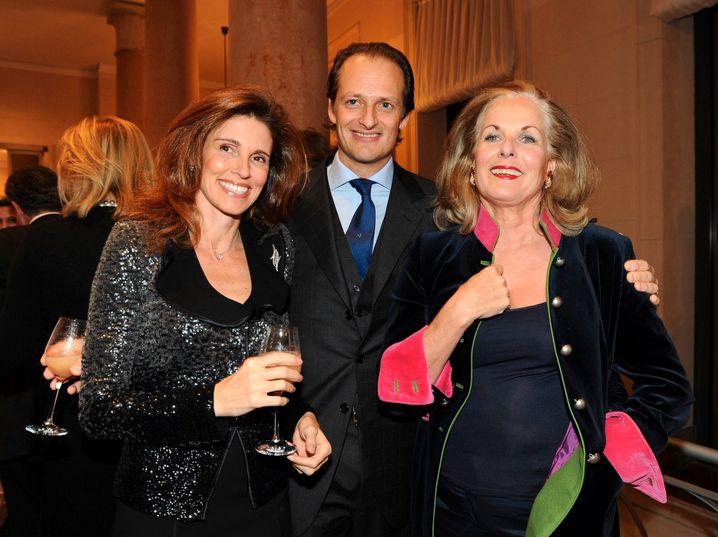 Familienbande: Elvira, Alfred und Alexandra Oetker beim Konzertbesuch in Berlin 2009