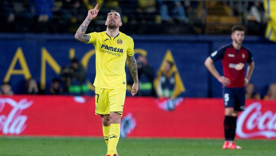 Paco Alcácer trifft für Villarreal: Ein Debüt wie einst beim BVB