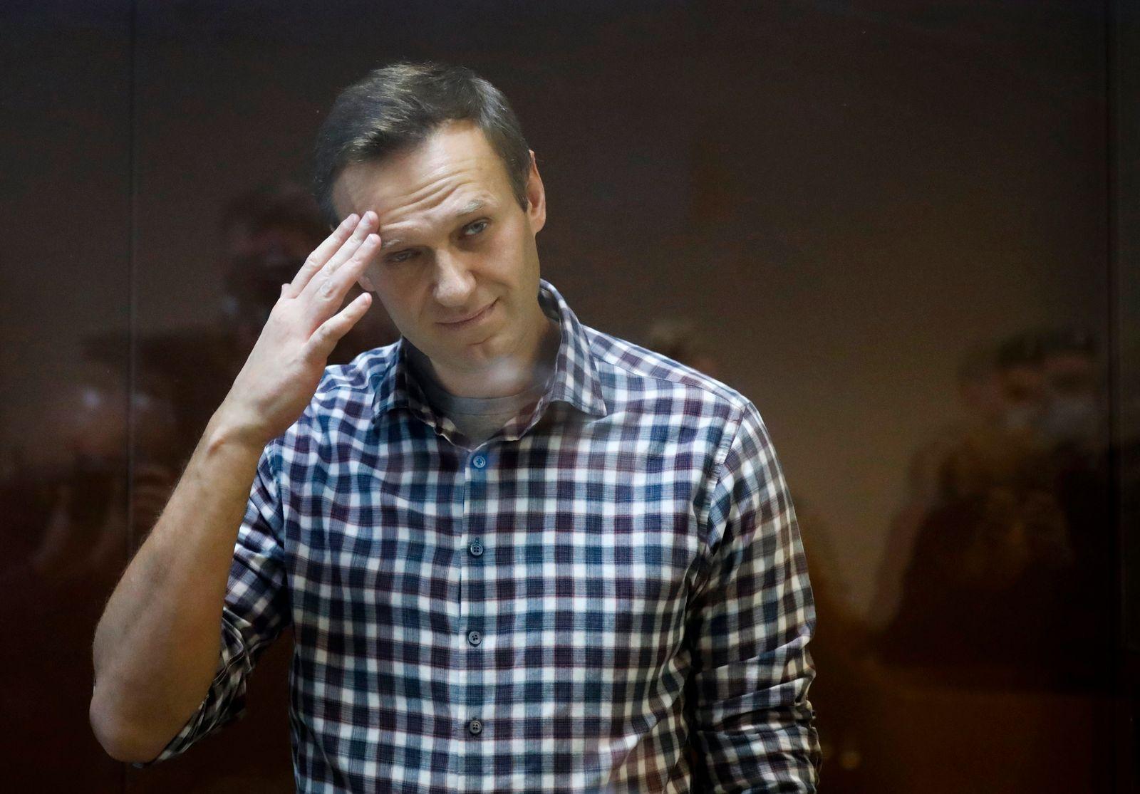 Sorge um Kremlkritiker Nawalny