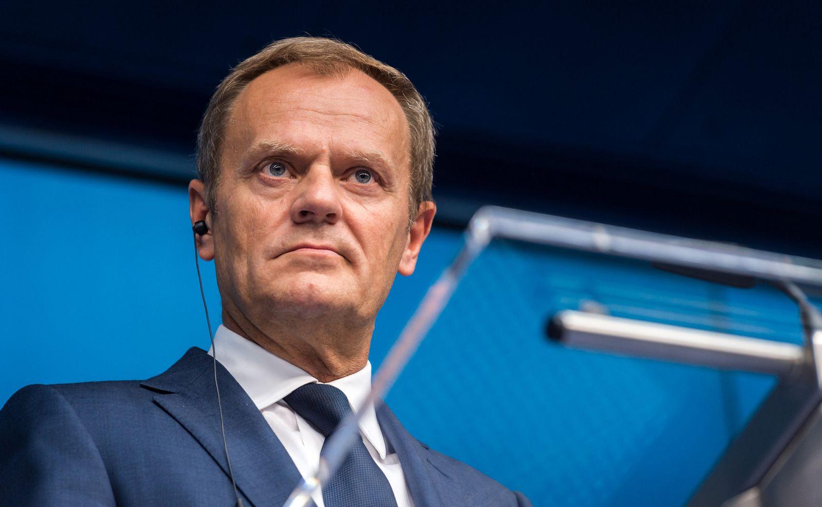 Donald Tusk/ EU-Sondergipfel abgesagt