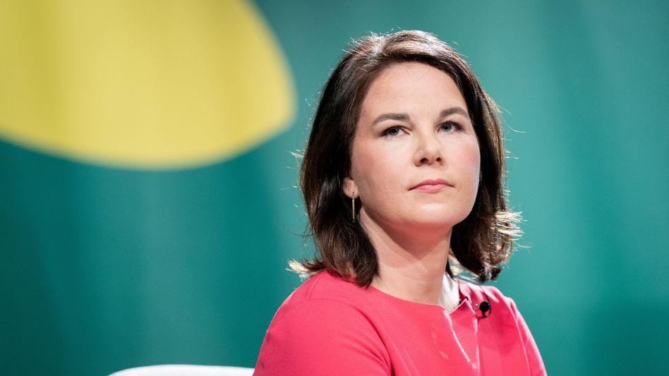 Grünenchefin Annalena Baerbock
