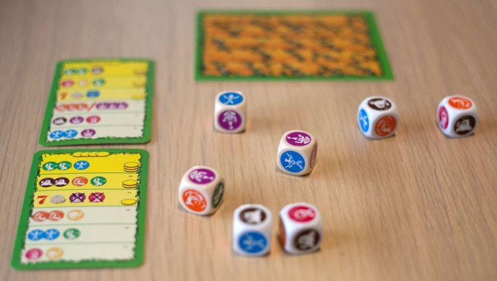 Neuheit von der Spielmesse: Würfel Bohnanza - Gebändigtes Glück