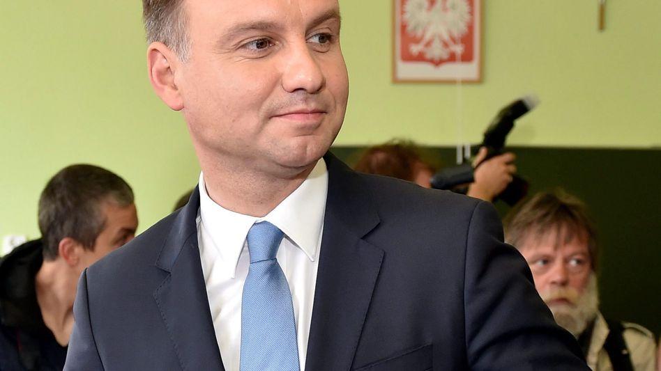 Andrzej Duda: Präsidentschaftskandidat der rechtskonservativen PiS