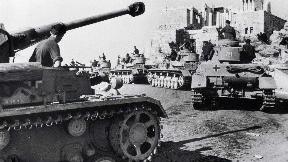 Deutsche Panzer in Athen 1941 »Es gab keine Entschuldigung«