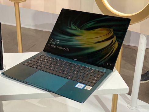Eines der neuen Notebooks, ein Matebook X Pro