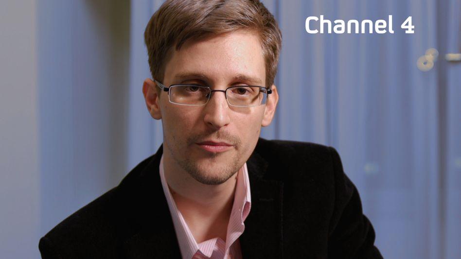 Snowden (bei seiner Weihnachtsansprache): Erstes Interview nach der Flucht im deutschen Fernsehen