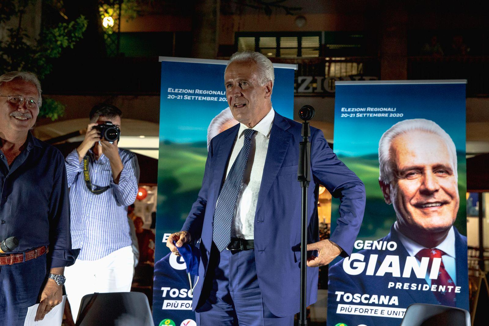 Italy Politics Regional Election Campaign