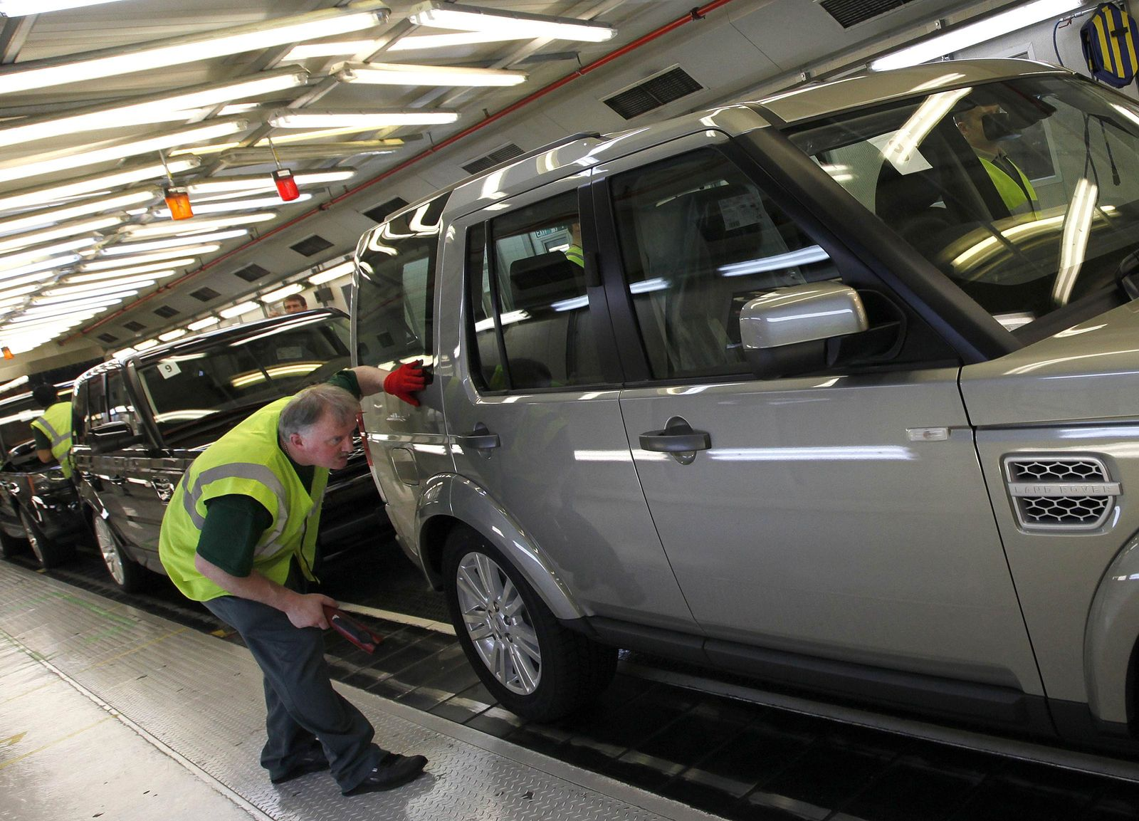 Land Rover Produktion Solihull