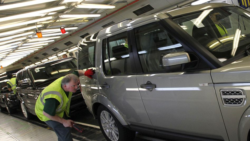 Land-Rover-Produktion im Englischen Solihull (Symbolbild)