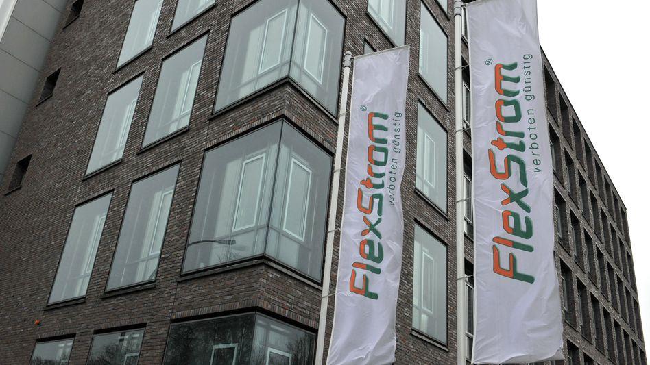 Flexstrom-Zentrale in Berlin: Stromanbieter meldet Insolvenz an