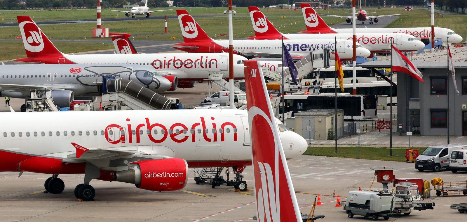 Gläubigerauschuss berät über Kaufangebote für Air Berlin