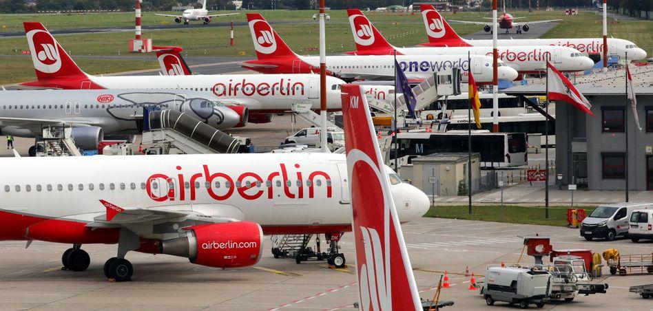 Maschinen von Air Berlin (Archivbild)