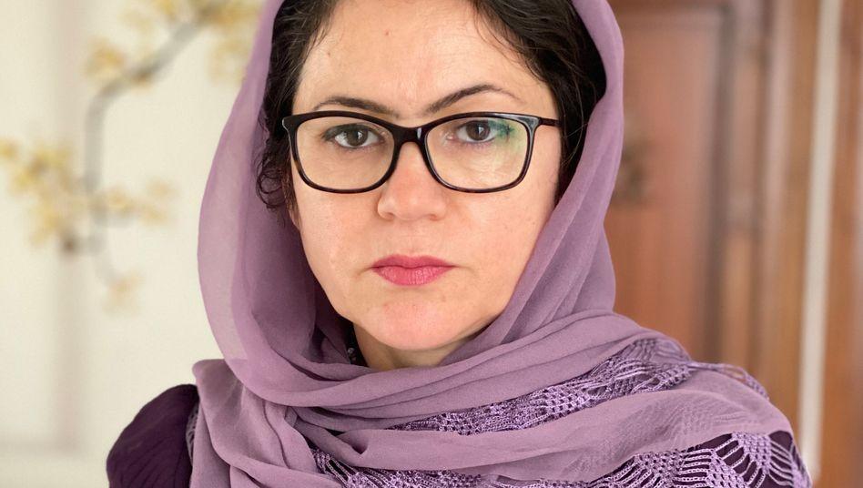 Fausia Kufi im April 2020: Nicht der erste Anschlag