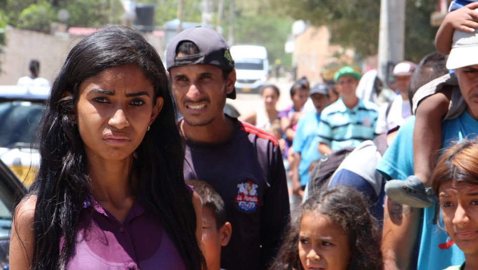 Since socialist Nicolas Maduro came into power in Venezuela, hundreds of thousands have fled hunger and his government's mismanagement. The border crossing near Cúcuta in the country's northeast is a migration hotspot.