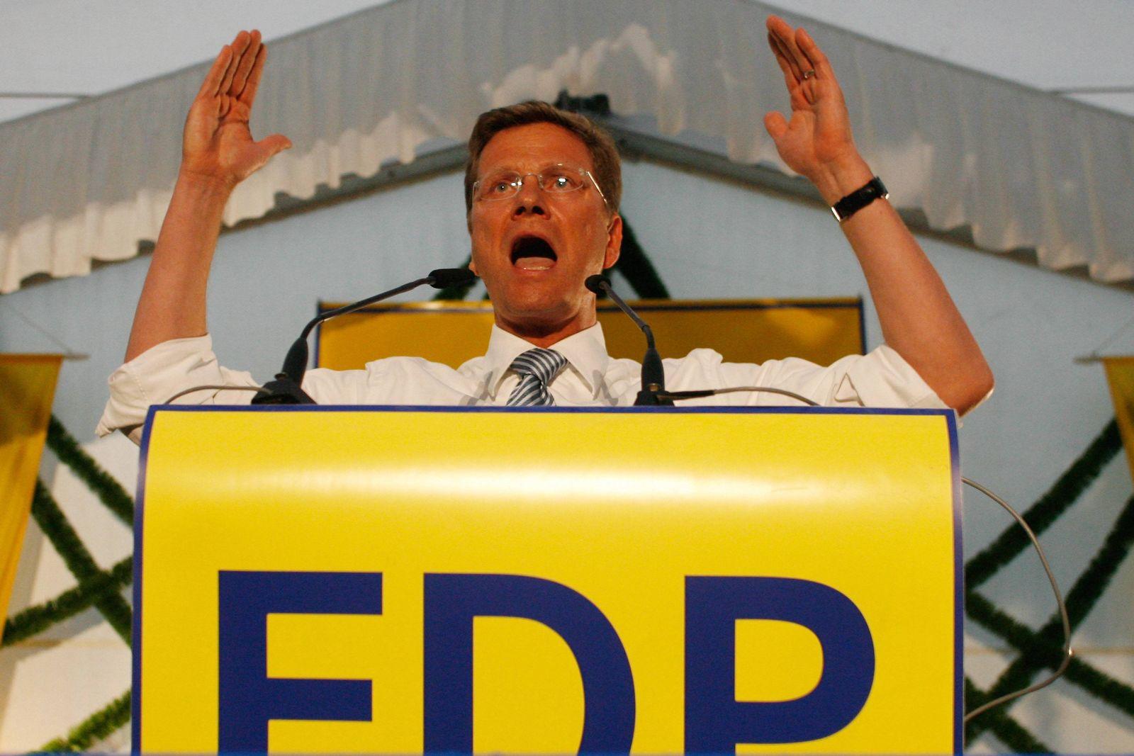 NICHT VERWENDEN Guido Westerwelle / Opposition