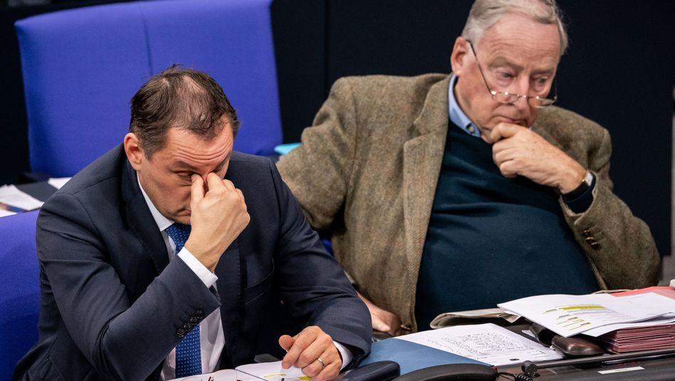 """Parteichef Chrupalla, Bundestagsfraktionschef Gauland: Das Motiv des Täters von Hanau sei """"Ausländerhass"""" gewesen"""