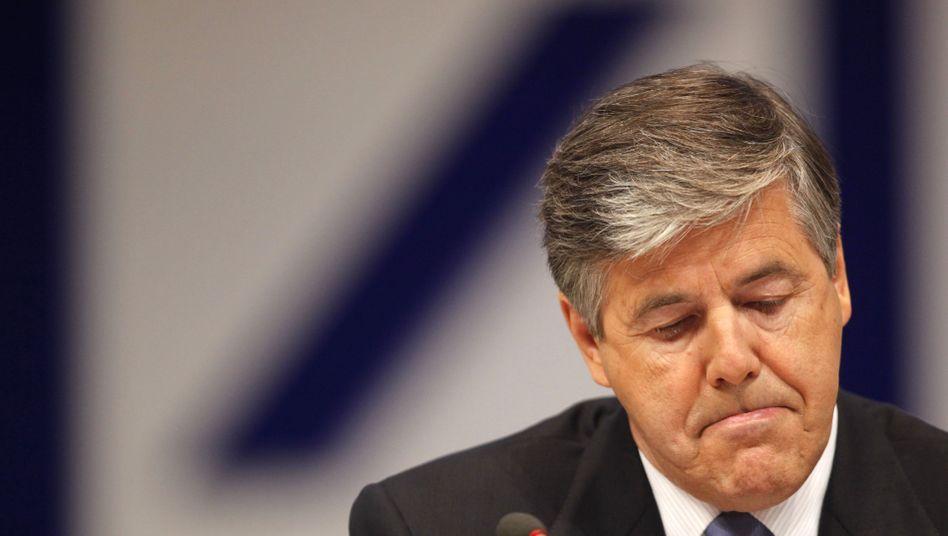 Deutsche-Bank-Chef Josef Ackermann: Beim Gehalt getoppt