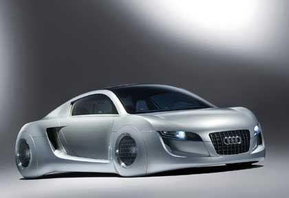 Audi RSQ: Wirklich cooles Polizeiauto im Look des Jahres 2035