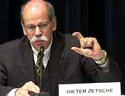 Chrysler-Chef Dieter Zetsche glaubt an den Erfolg
