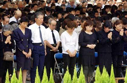 """Gedenkfeier in Nagasaki: """"Es gibt nur einen Weg"""""""