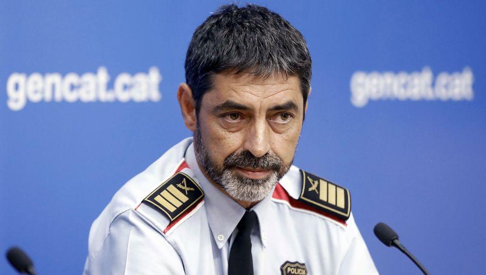 Josep Lluis Trapero, Katalanischer Polizeichef