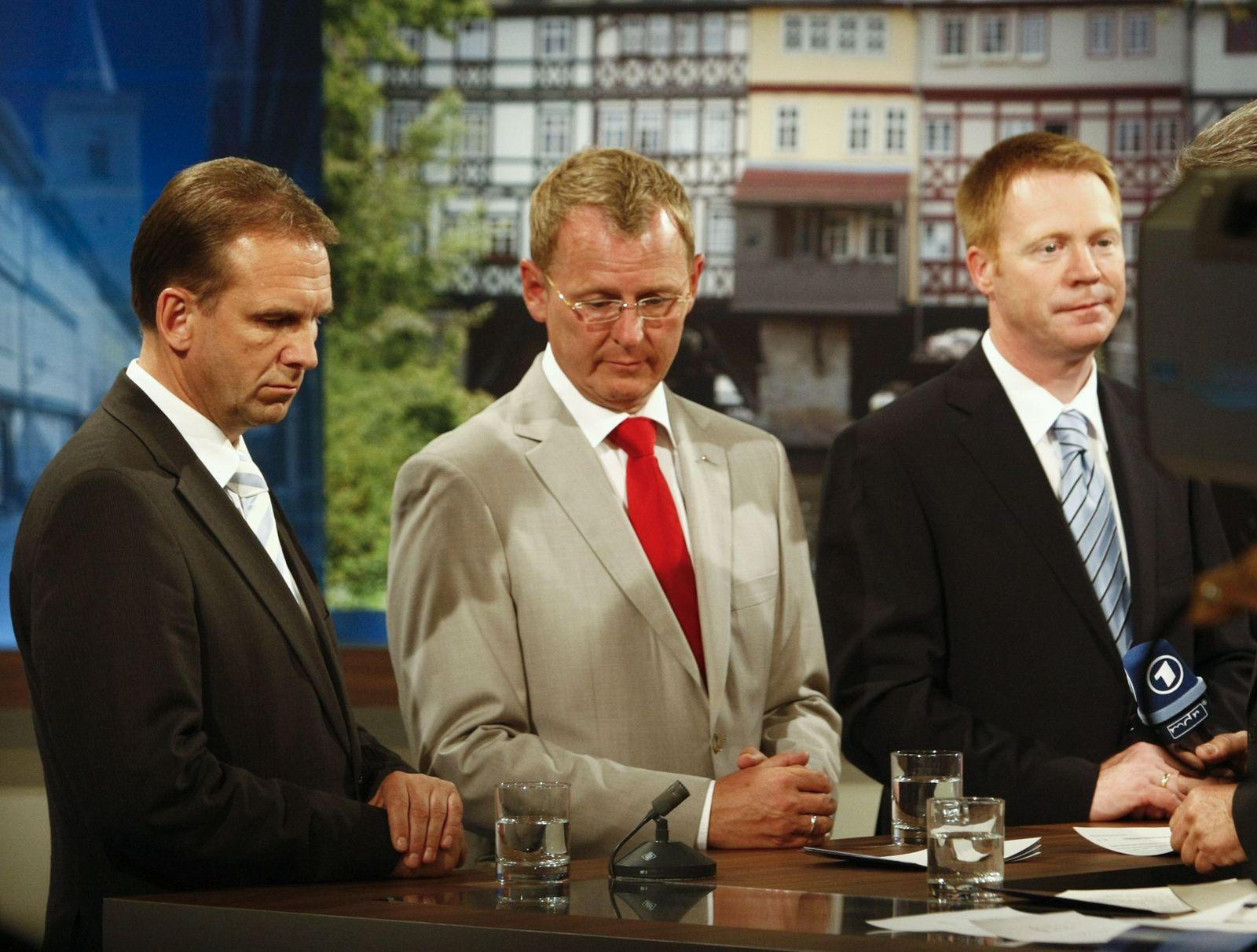 Bodo Ramelow und Christoph Matschie