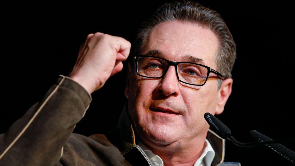 Heinz-Christian Strache: Bürgermeisterwahl eher unwahrscheinlich