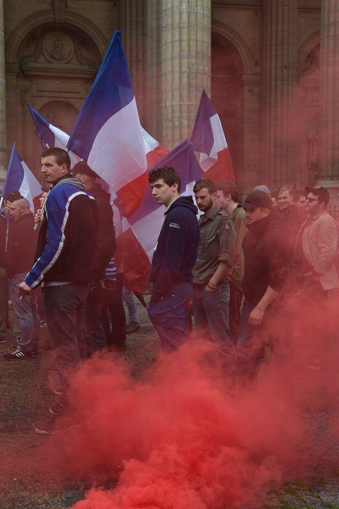 Identitären-Demonstration in Paris 2016: »Génération identitaire« stand bereits vor Gericht