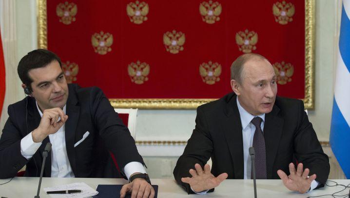 Tsipras in Moskau: Freundschaftsanfrage aus Athen