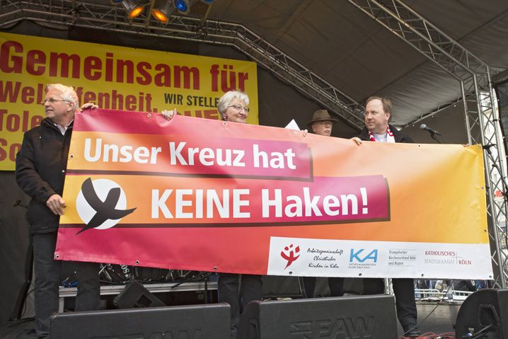 Kirchenprotest gegen AfD-Parteitag in Köln (2017)