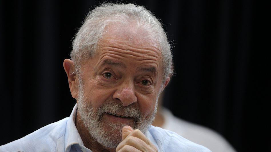 Ex-Präsident Lula: Kampfansage an Bolsonaro (Archivbild)