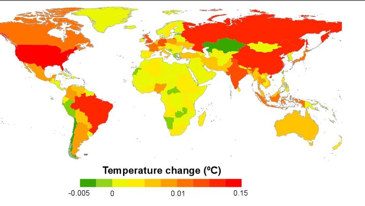 Grafiken: Wer ist Schuld am Klimawandel?