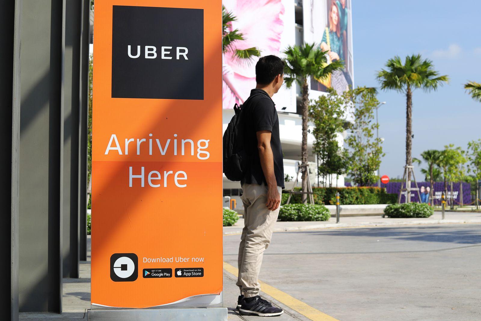 EINMALIGE VERWENDUNG Uber/ Pick Up
