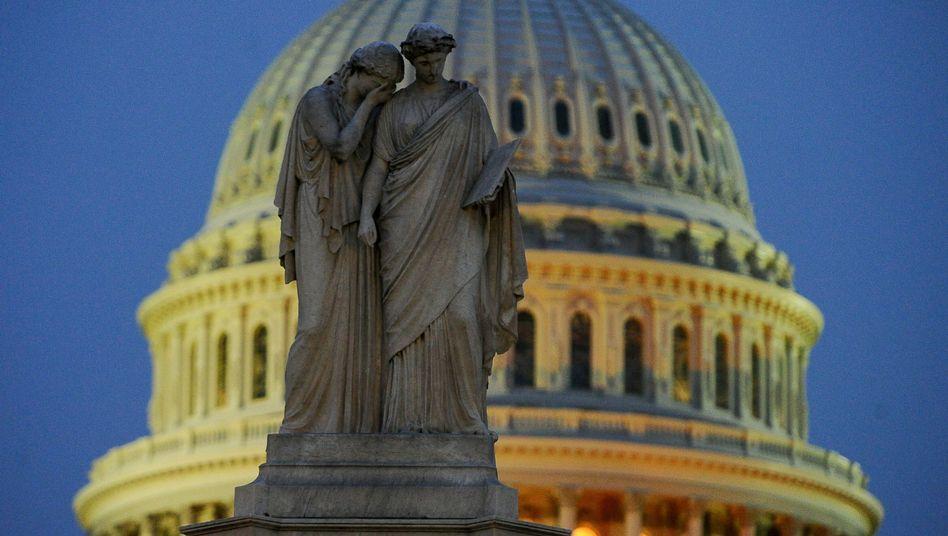 Capitol in Washington: Aus, vorbei