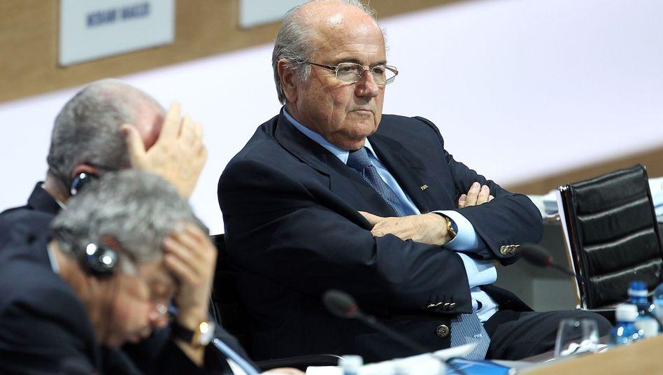 Fifa-Boss Blatter: Vier letzte Jahre an der Spitze des Fußballweltverbandes