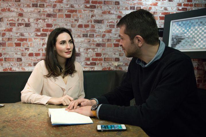 Tremonti im Gespräch mit SPIEGEL-ONLINE-Korrespondent Giorgos Christides