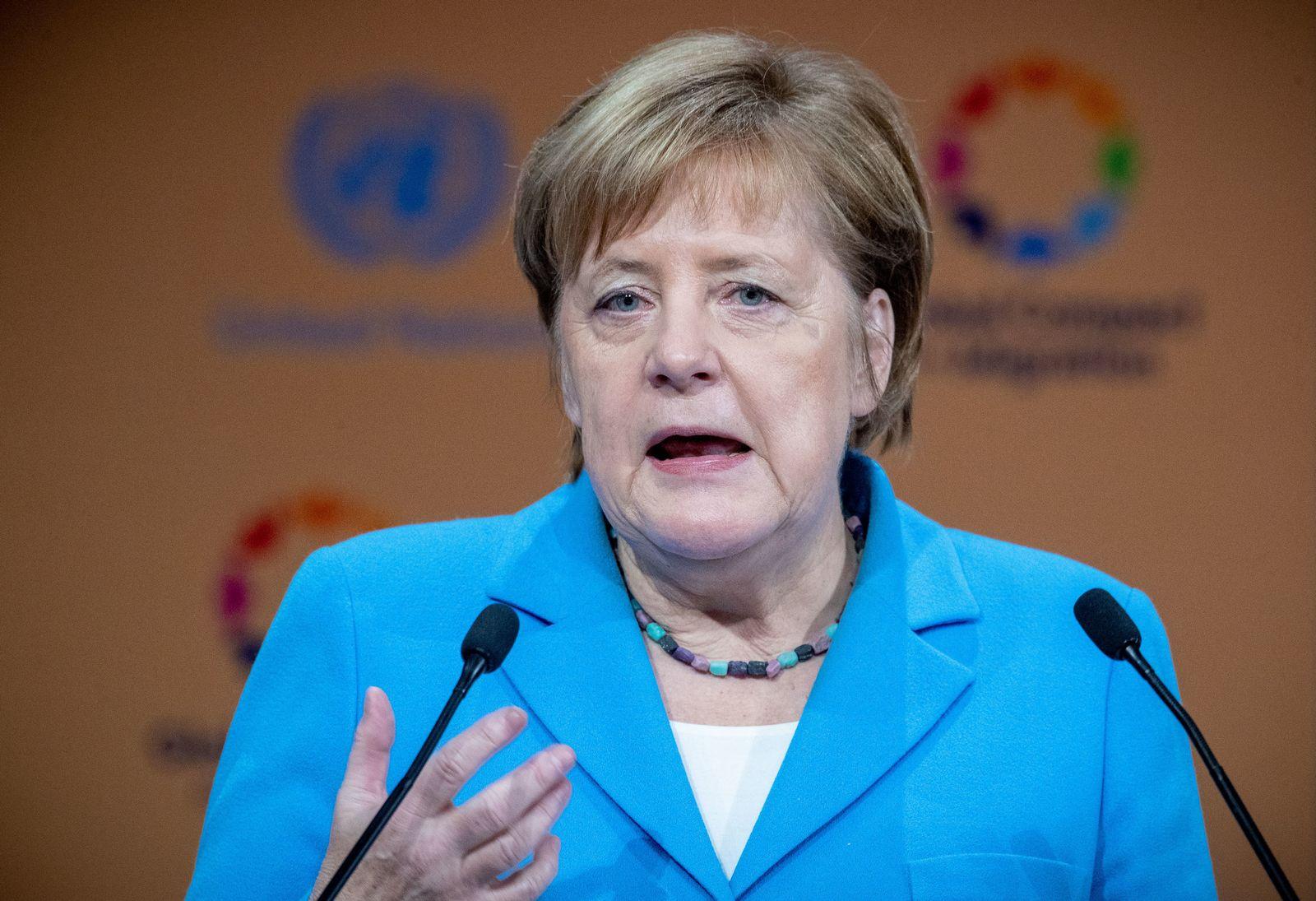 Angela Merkel / UN-Konferenz zum Migrationspakt