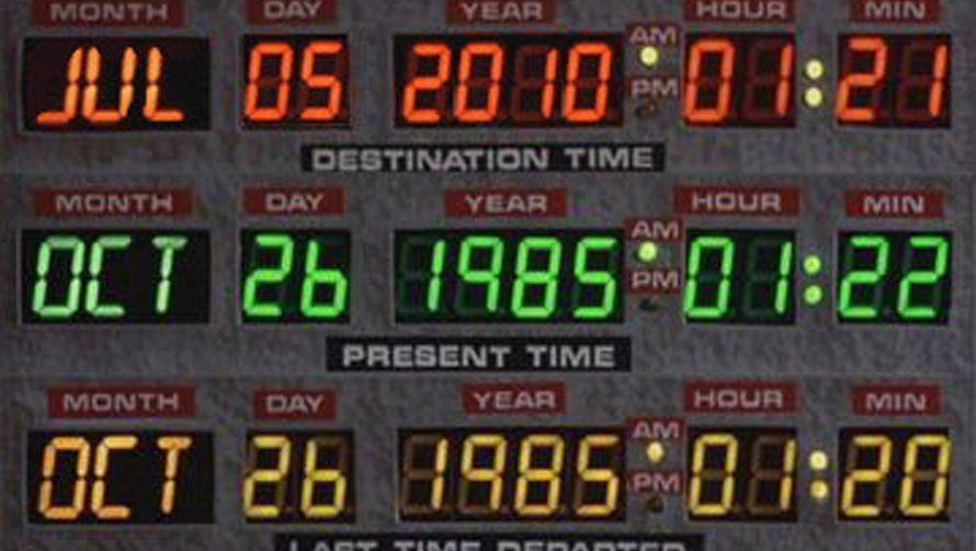 Ja, wann denn nun? Kam Marty McFly bereits im Jahr 2010 an? Oder doch erst im Jahr 2015?