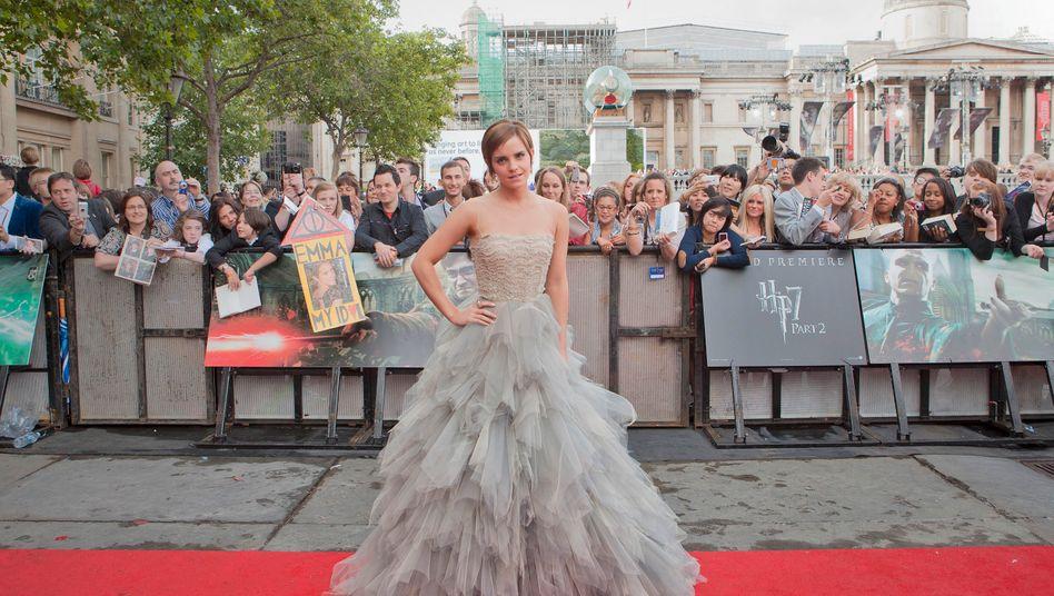 "Emma Watson in London bei der Premiere eines ""Harry Potter""-Films (Archivfoto)."