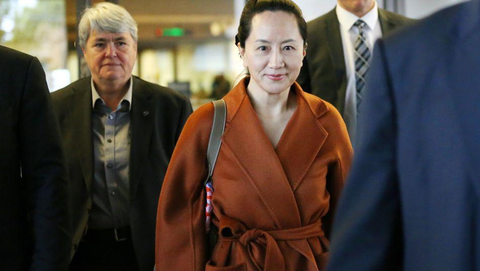 Huawei-Managerin Meng Wanzhou (Archivbild): Straftatbestand wäre auch in Kanada erfüllt